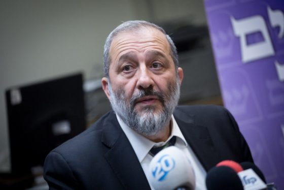 Deri Appoints Shas Party Head In Haifa From The Party's Young Guard