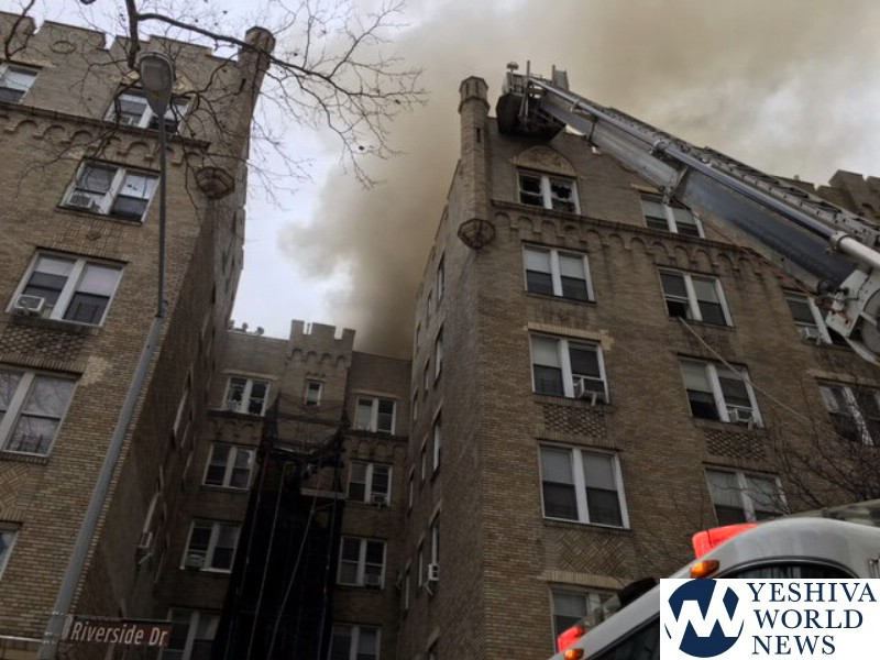 FDNY: At least 14 injured in 7-alarm fire in Manhattan