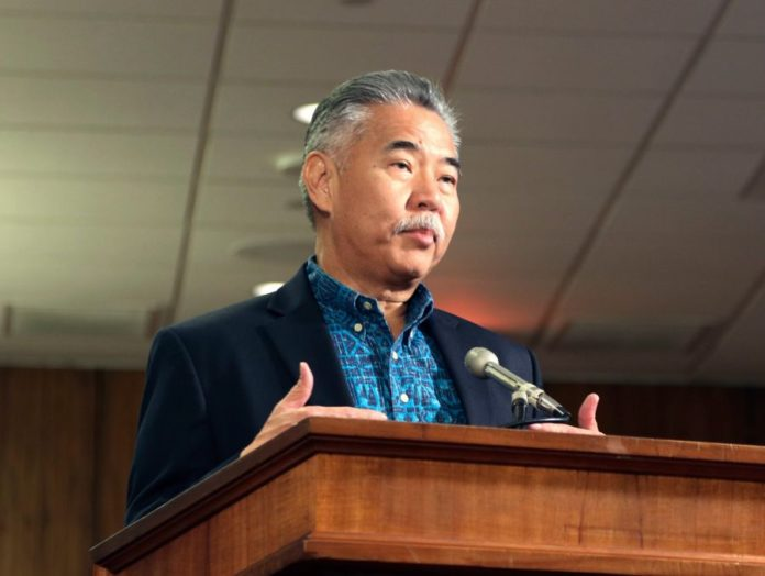 After false missile alarm, Ige couldn't log on to Twitter