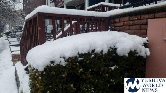 NYC Mayor DeBlaso Updates New Yorkers On Winter Storm [12:00PM ET]