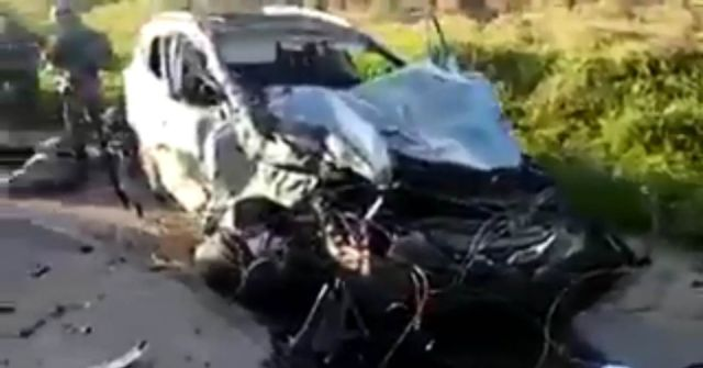 2 dead, 3 wounded in Palestinian car-ramming attack