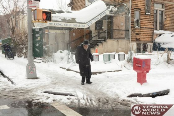 Photo Essay: Photos In Boro Park During Wednesdays Snow Storm (Photos by JDN)