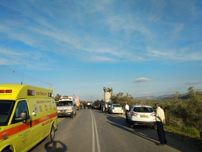 Several hurt as car hits crowd in West Bank