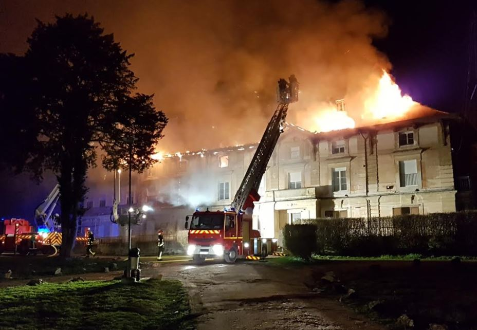 TRAGEDY: French Community Completely Destroyed By Fire ...  TRAGEDY: French...