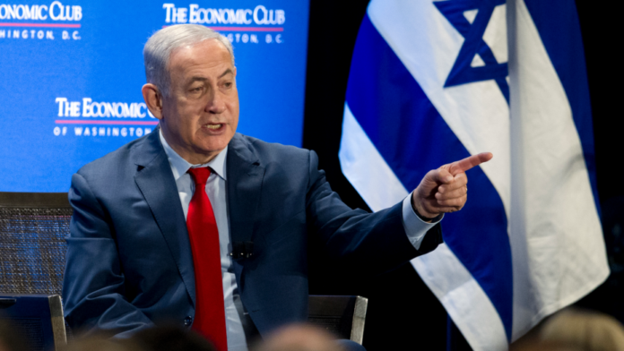 Netanyahu meeting at AIPAC a respite amid looming political crises
