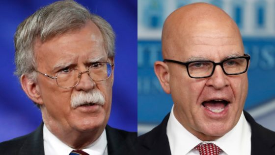 Trump Replaces National Security Adviser H.R. McMaster With John Bolton, Staunch Iran Deal Opponent