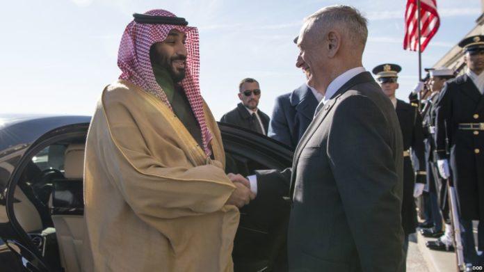 Mattis praises Saudis for humanitarian aid to Yemen