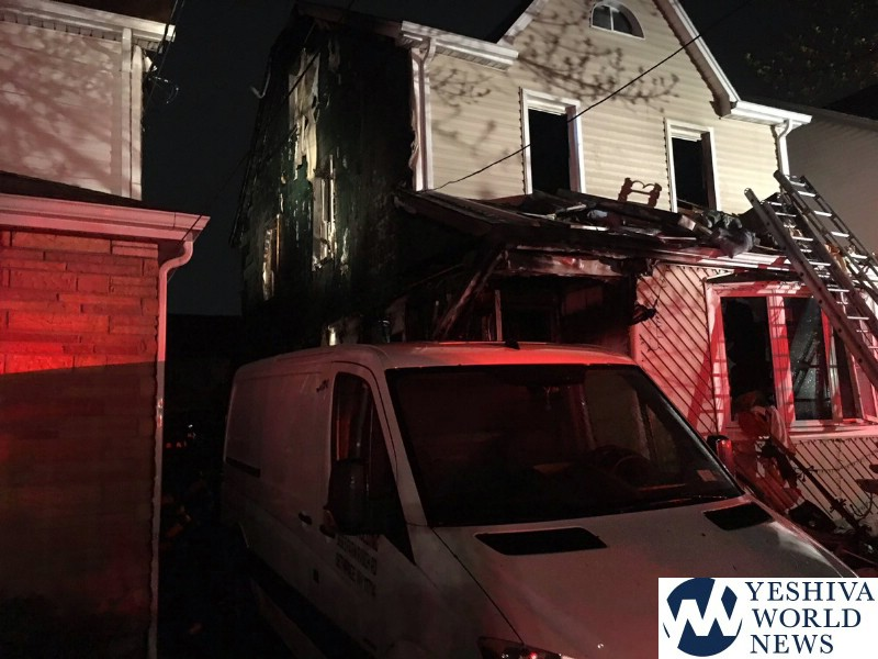 3 killed, 8 injured in New York City house fire