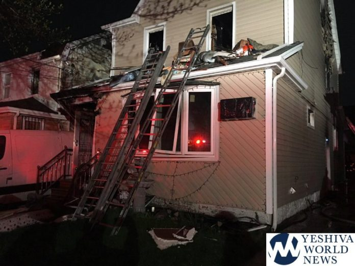 Three killed, eight injured in NY  house fire