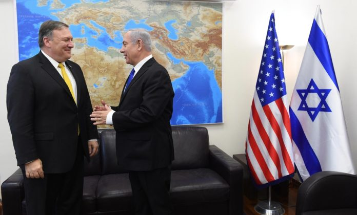 Image result for PHOTOS MIKE POMPEO IN JERUSALEM