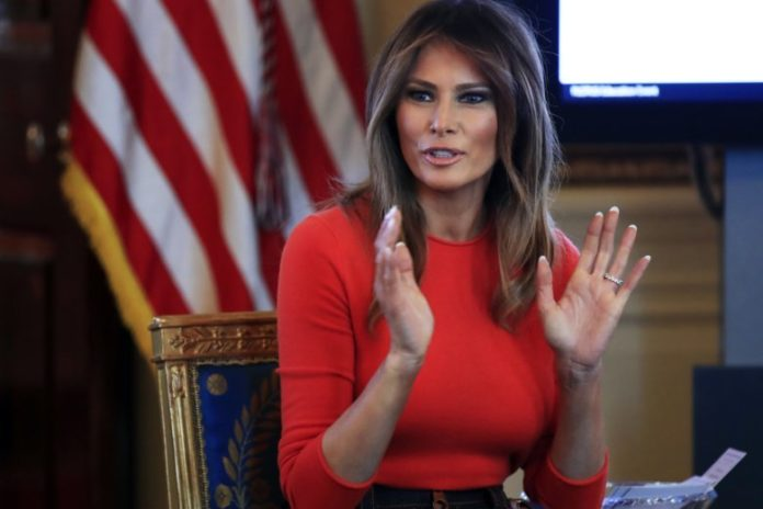 Melania Trump Shows Student Her Reassuring Side Amid Scandal