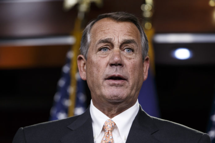 Boehner does dramatic about-face on the legalization of marijuana