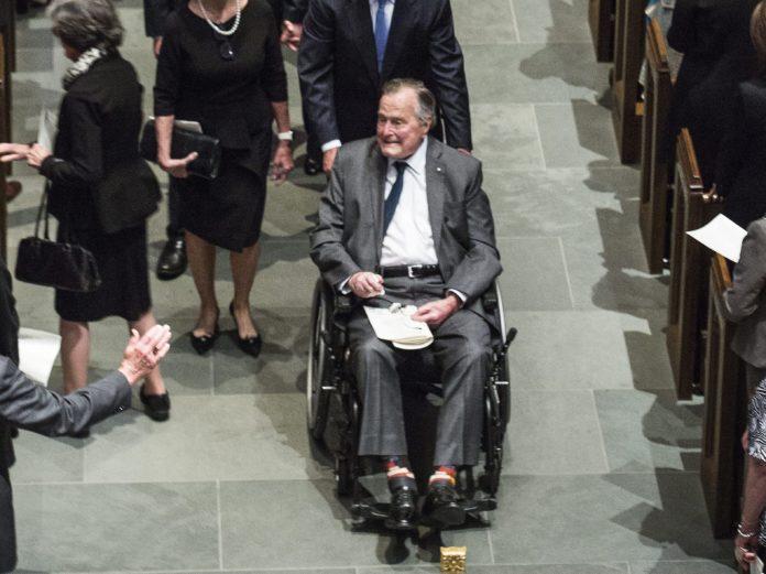 Former President George HW Bush Out Of ICU