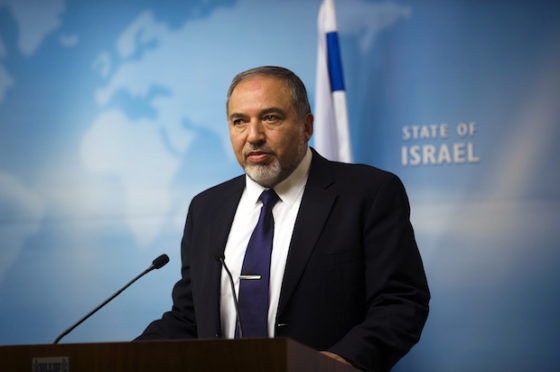 DM Lieberman Has Plans To Build 2500 Housing Units In Yehuda And Shomron; None For Chareidim