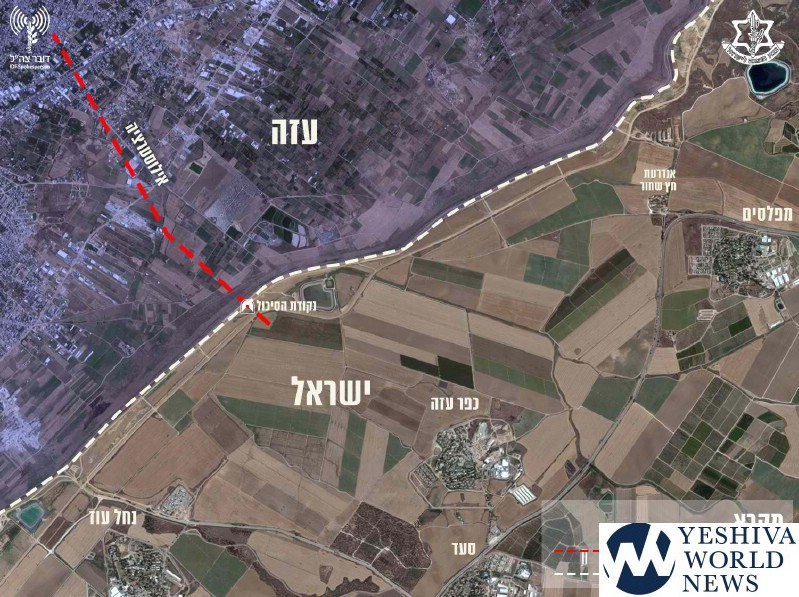 Israel 'destroys' tunnel from Gaza that crossed barrier