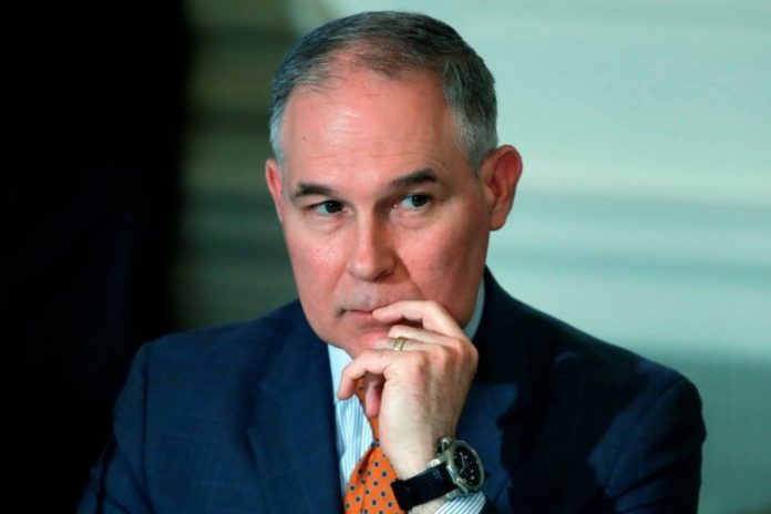 EPA chief has at least 4 government email accounts