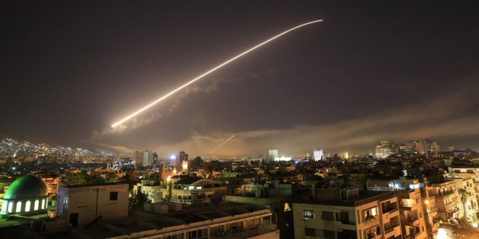 World leaders react to joint Syria airstrikes