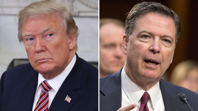 Comey says he doesn't expect Trump will fire Mueller
