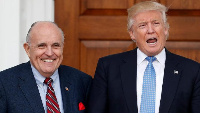 Trump Adds Giuliani to Legal Team After FBI Raid on Cohen