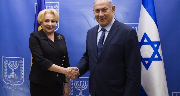 Romanian President Clashes With Parliament Over PM's Fate After Israel Visit