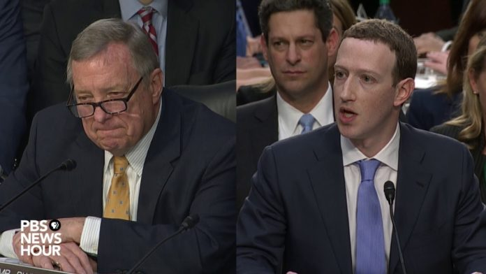 Watch Illinois Senator Durbin (and other members of Congress) grill Mark Zuckerberg