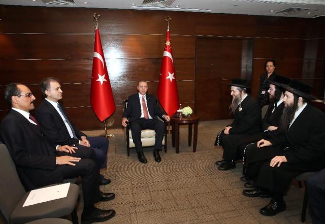 Neturei Karta Members Meet Erdogan In London Just After Calling