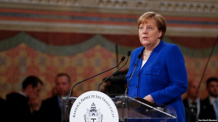 Merkel: NATO's two percent defence spending target not 'some fetish'