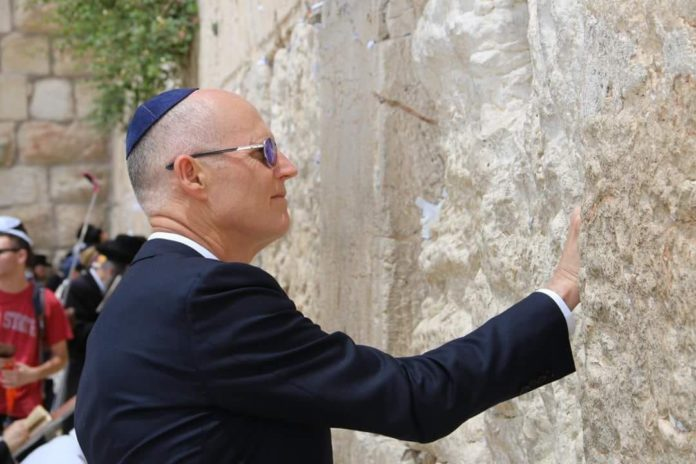 Governor Scott To Attend Embassy Opening In Jerusalem