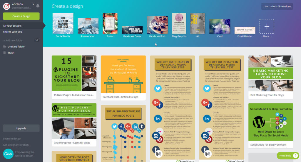 Canva – The Secret Marketing Weapon Every Business Should