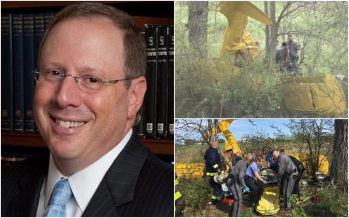 Reform Rabbi Killed In Shabbos Morning Plane Crash In Middletown, NY