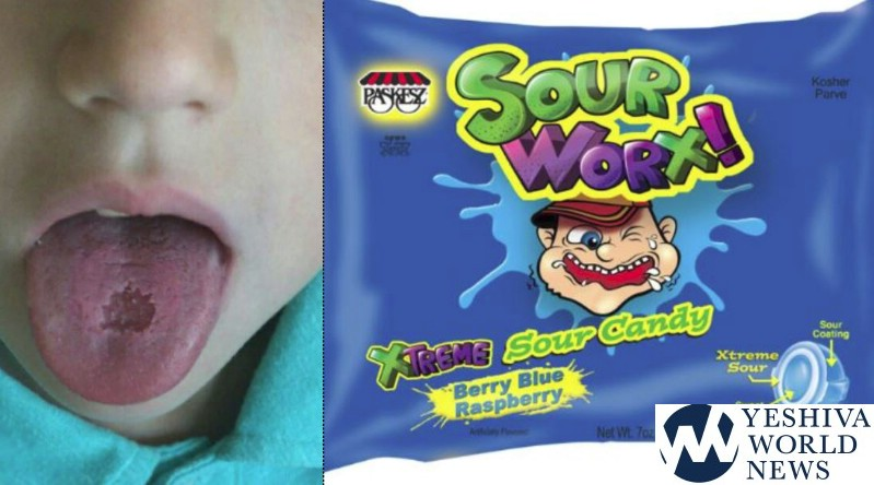 Update Paskesz Suspends Production Of Sour Worx Candy