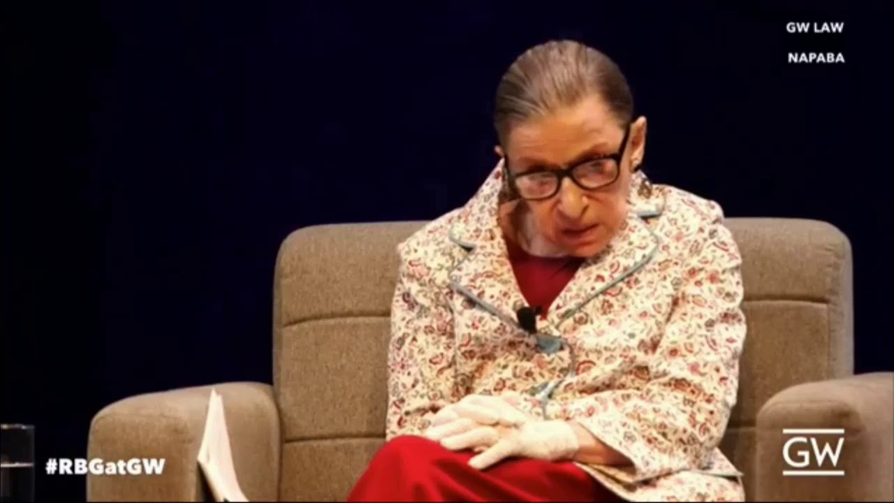 Watch Liberal Justice Ruth Bader Ginsburg Criticizes