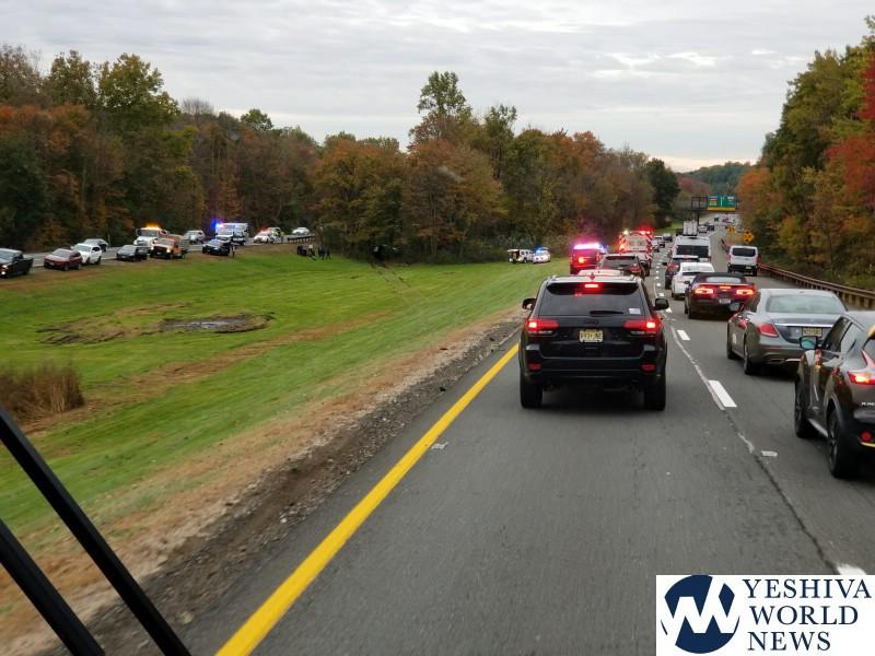 Tehillim serious crash on garden state parkway 12 high - Accident on garden state parkway today ...