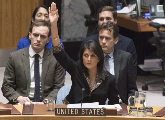 LOOKING BACK: The Many Times Nikki Haley Defended Israel As U.S. Ambassador