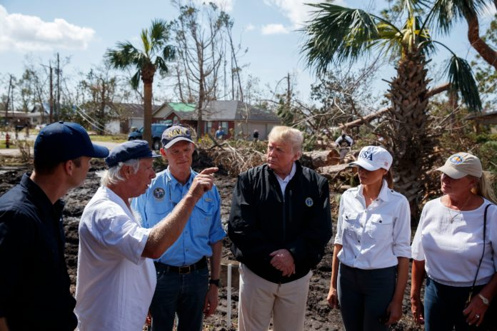 Videos Trump Marvels At Damage From Hurricane Michael In