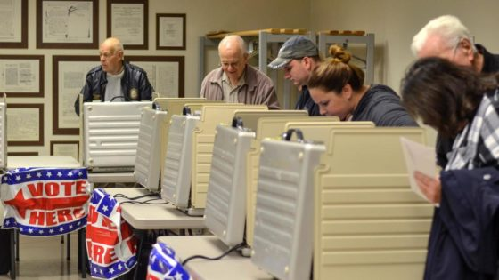 National Voting System Faces Test On Election Day