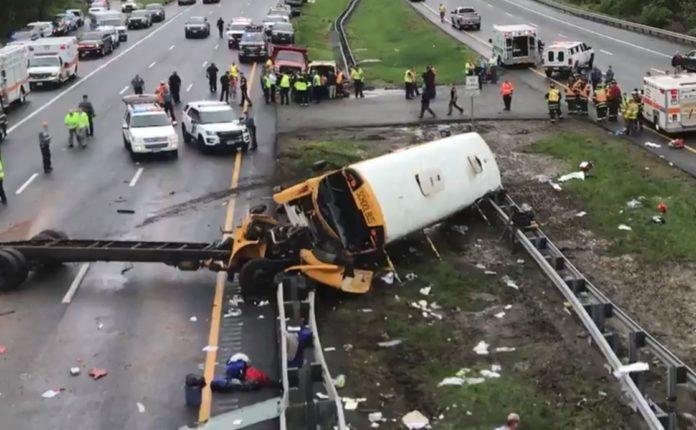 WATCH: Footage of Fatal NJ School Bus Crash Shows Driver