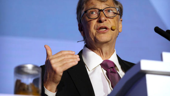 """Bill Gates Talks The """"Reinvented Toilet"""" In China"""