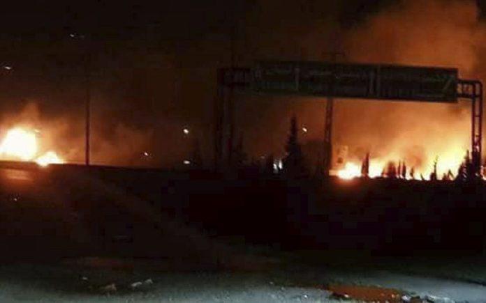 IAF Strikes Multiple Iranian Targets Inside Syria ...