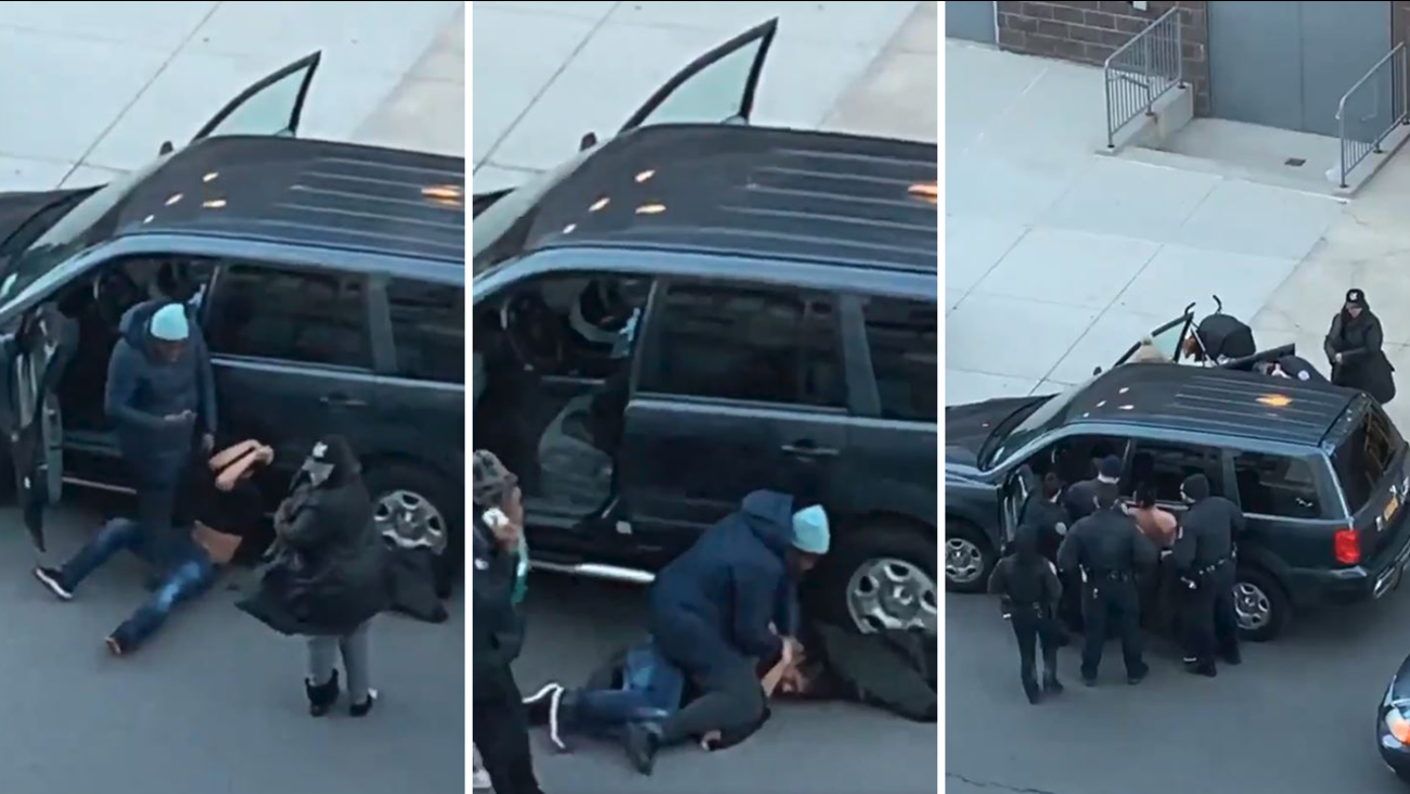 Epic Footage Bronx Mom Pins Down Man Trying To Steal Her