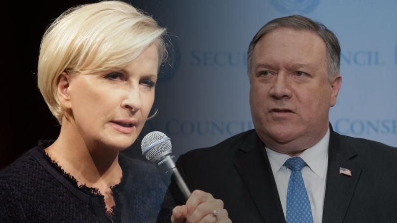 Mika insults the homosexaul community in an argument against Pompeo