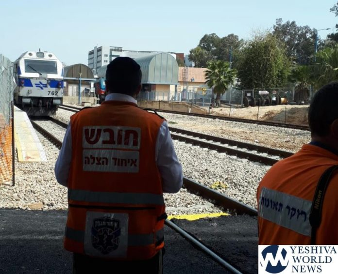 Woman Struck By A Train And Critically Injured Near Rehovot