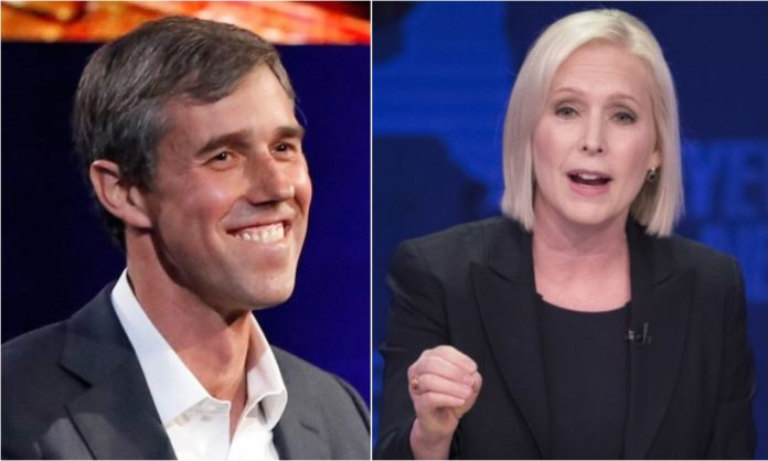 Watch 2020 Dem Candidates O Rourke Amp Gillibrand Support