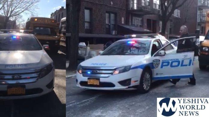 INSANITY: NYC Sanitation Police Blocks Boro Park Street For