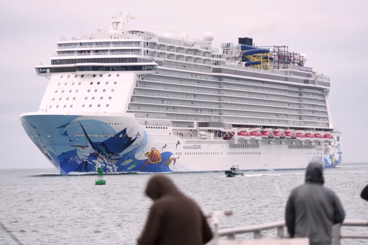Watch Passengers Injured As Extreme Winds Rock Cruise