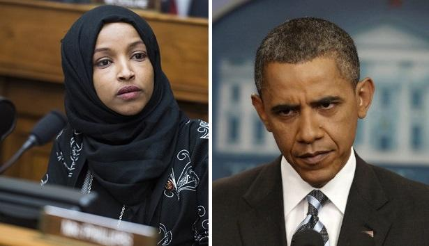 ilhan omar backtracks after calling obama a  u2018pretty face