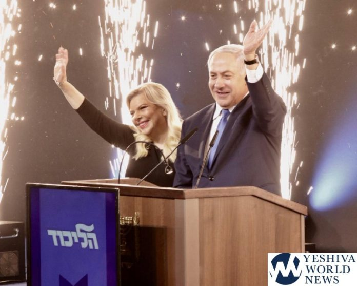 Netanyahu likely headed for th term as prime minister shas