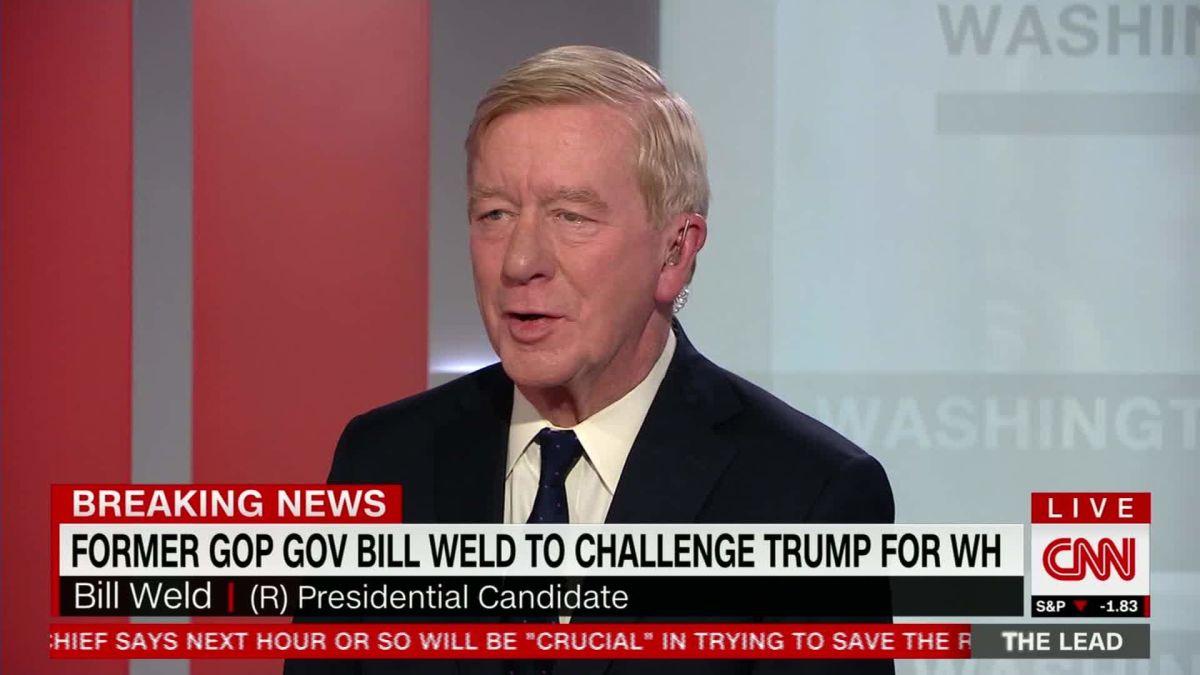 Republican Bill Weld Announces Run Against Trump In 2020