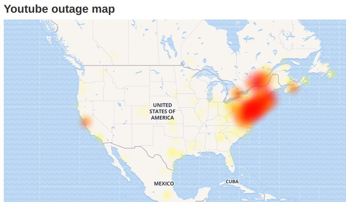Google Outage Takes Down Youtube Gmail Vimeo Snapchat More In Parts Of Us The Yeshiva World
