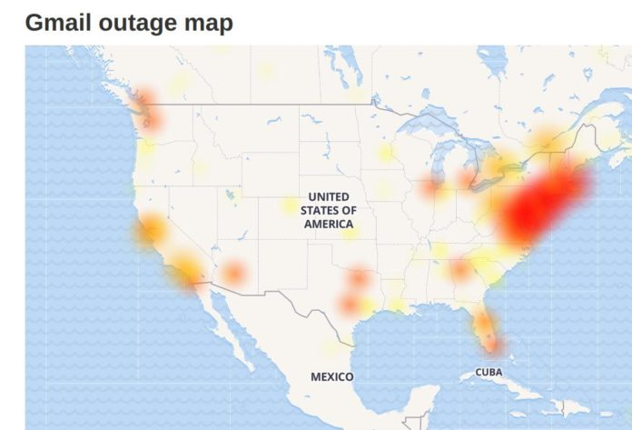 Google Outage Takes Down YouTube, Gmail, Vimeo, Snapchat & More in